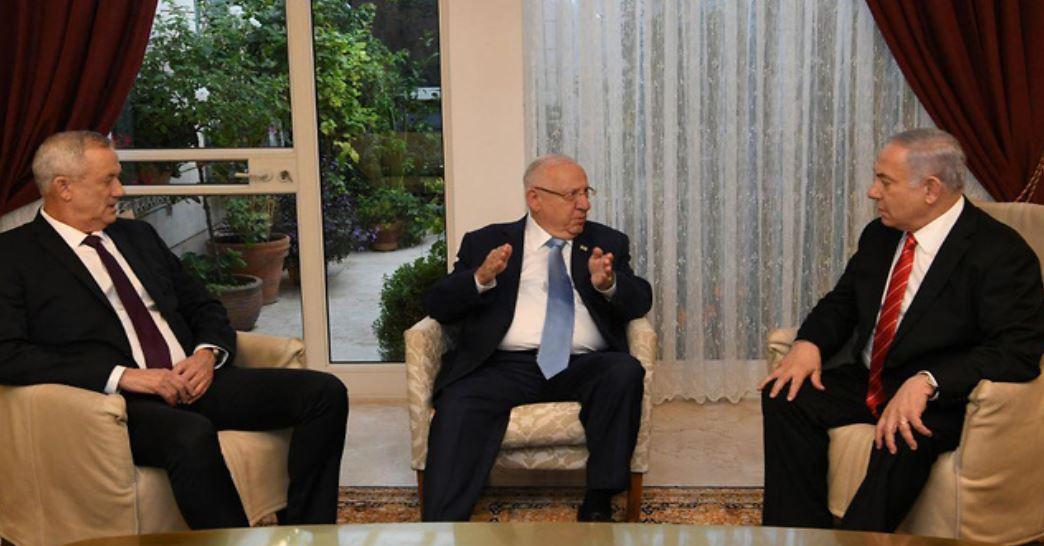 Gantz Netanyahu Rivlin