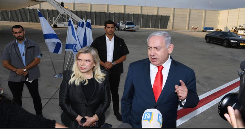 Netanyahu a Londres