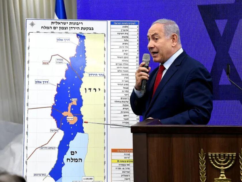 Netanyahu anuncio de anexión