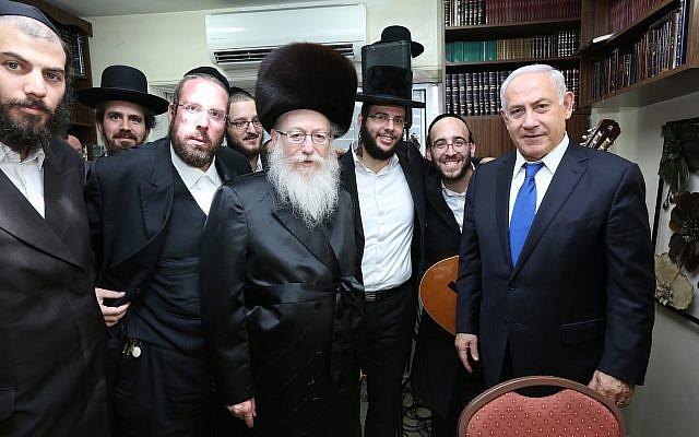 Netanyahu y partidos ultraortodoxos