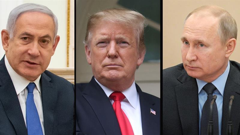 Netnayahu Trump Putin
