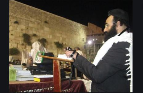 Shaul Nokriat rabino kotel
