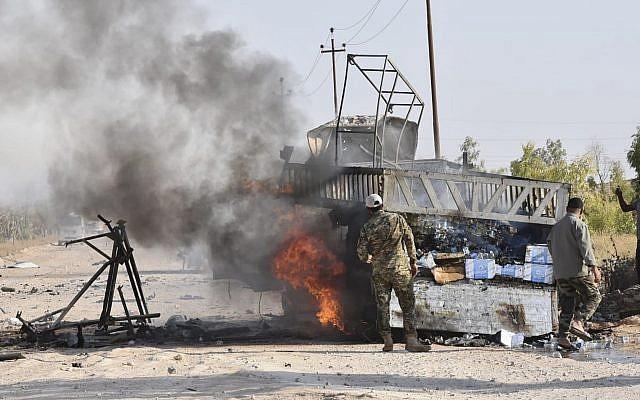 frontera Siria Irak
