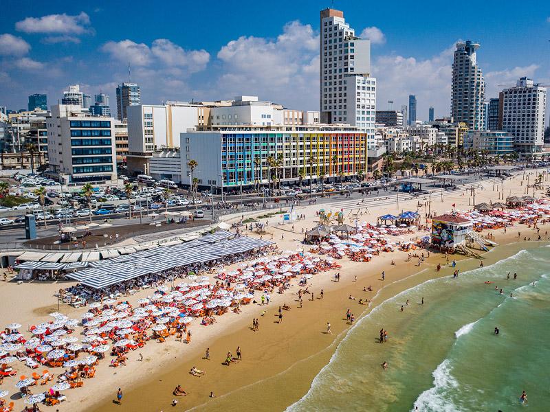 Tel Aviv's Frishman Beach