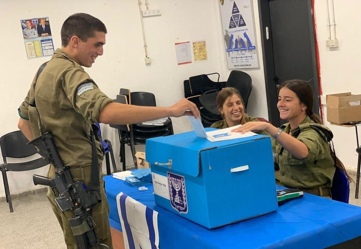 voto de soldados