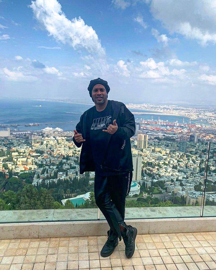 Ronaldinho israel 2