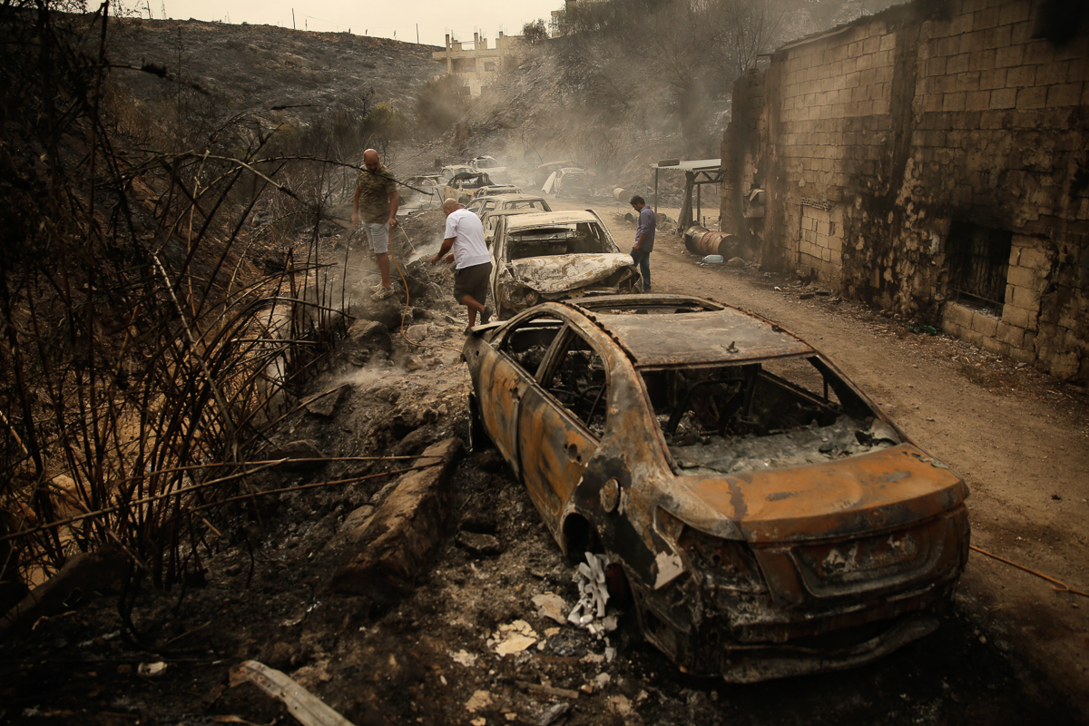 Lebanon Fires