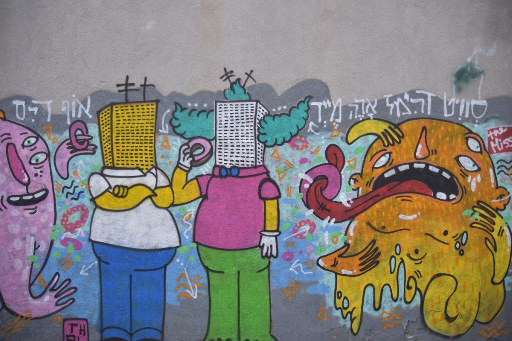 graffiti simpsons
