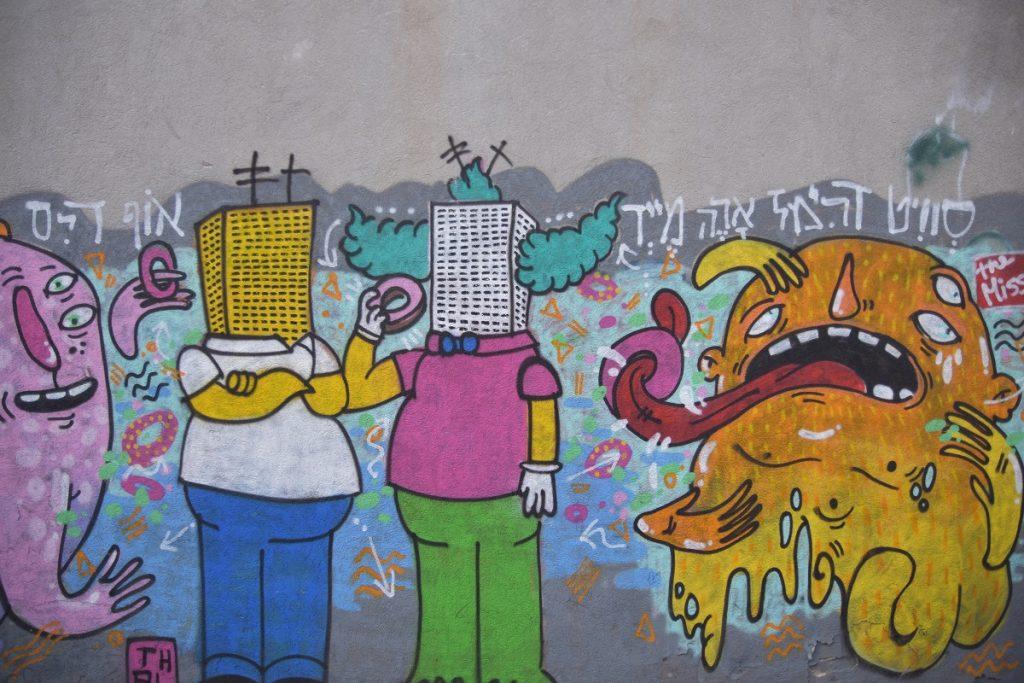 graffiti simpsons