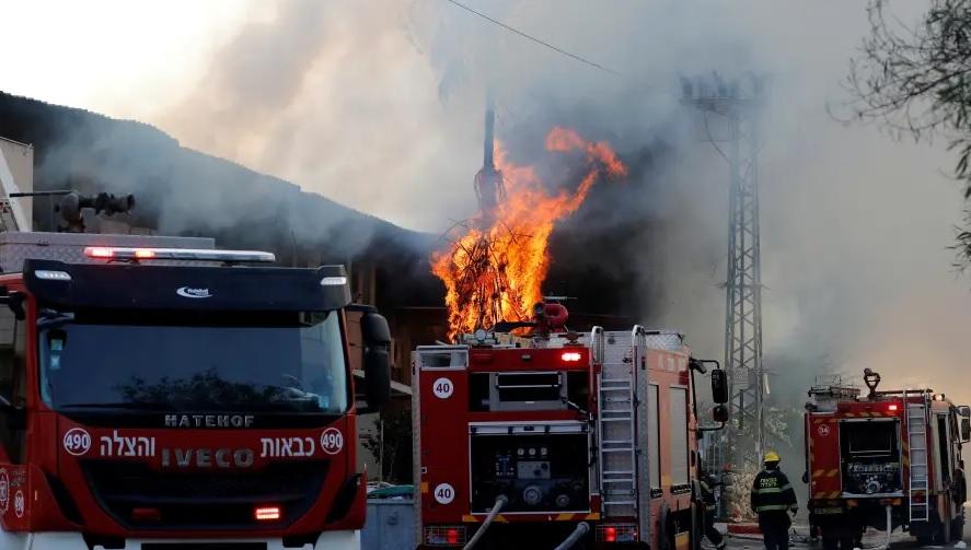Autobombas incendio