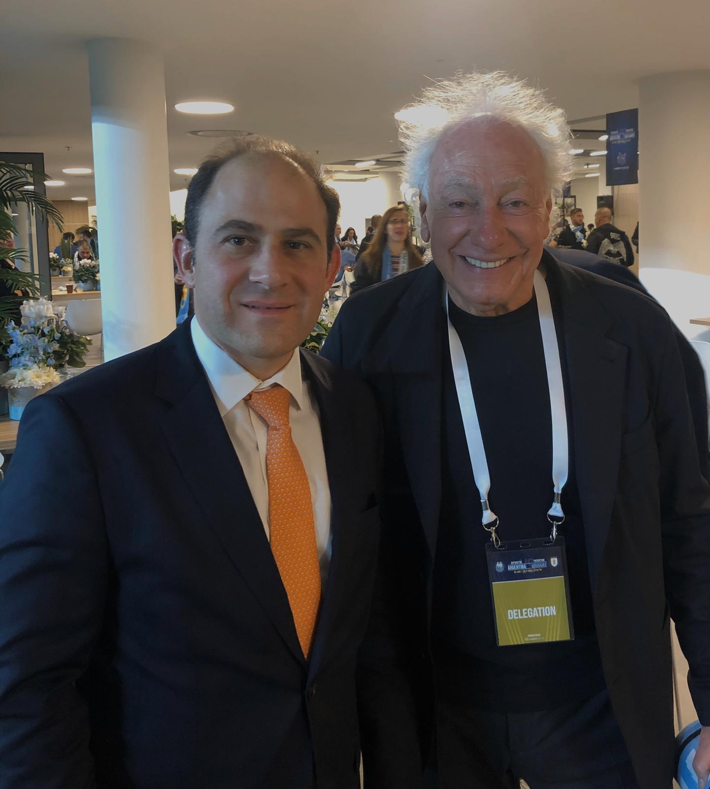 Mariano Caucino y Guillermo Coppola