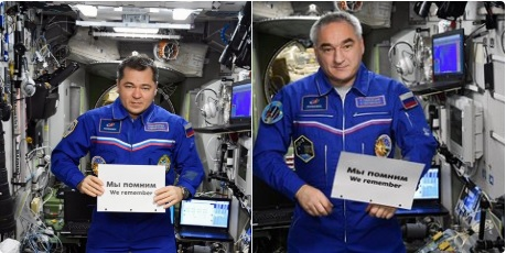 Astronautas rusos Shoá