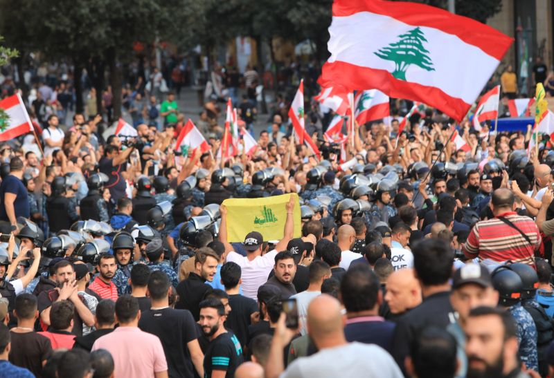 LEBANON-UNREST-DEMO-POLITICS