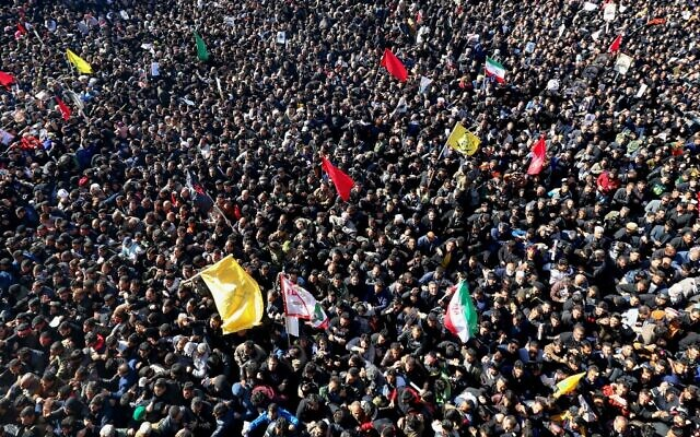 IRAN-IRAQ-US-UNREST