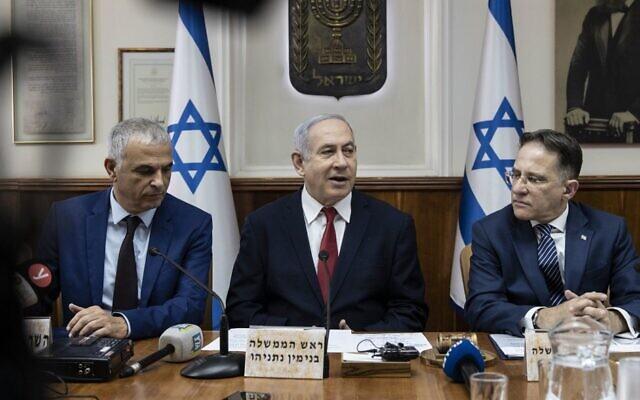ISRAEL-GOVERNMENT-CABINET-NETANYAHU