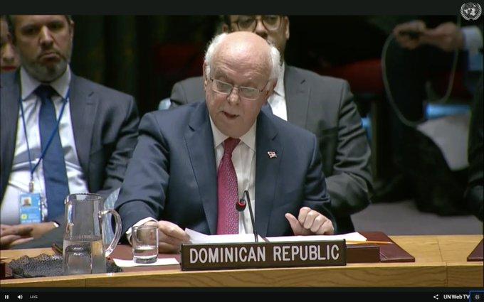 Embajador dominicano ONU