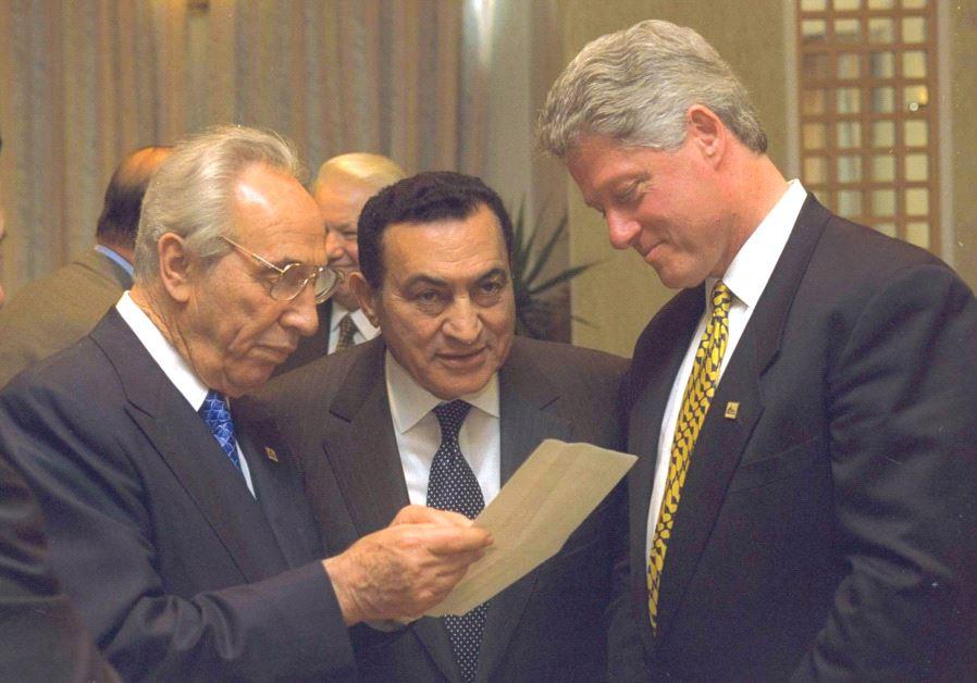 mubarak y shimon y eeuu