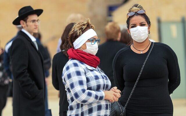 ISRAEL-HEALTH-VIRUS-TOURISM-RELIGION-JUDAISM