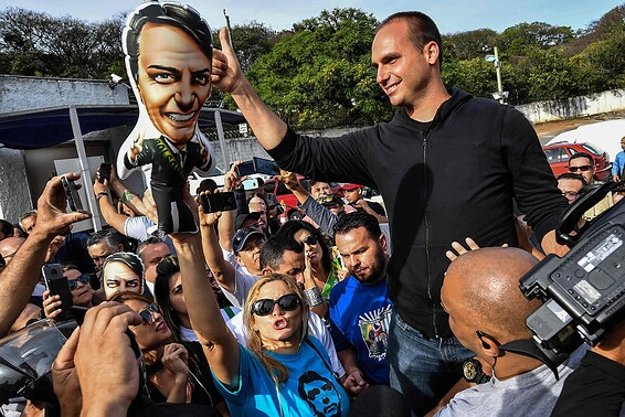 BRAZIL-ELECTION-CAMPAIGN-BOLSONARO-HOSPITAL-SUPPORTERS