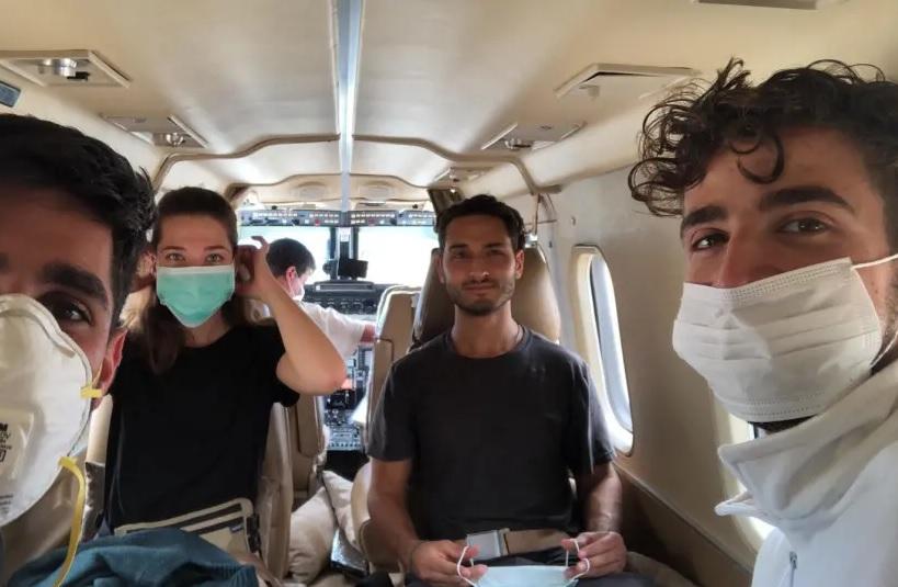 Israelíes avión Bolivia