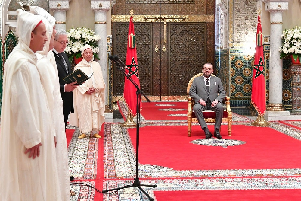 King-Mohammed-VI-Receives-Newly-Appointed-Constitutional-Court-Judges