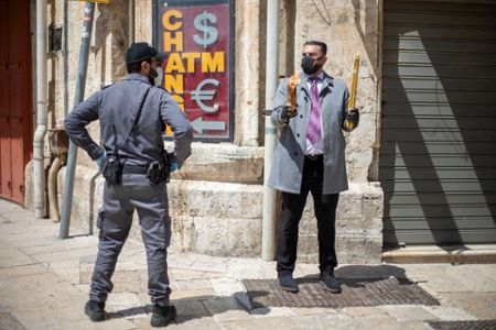 Virus_Outbreak_Mideast_Jerusalem_Holy_Fire_47773