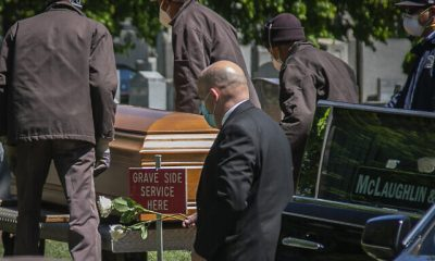 Virus Outbreak New York Funerals