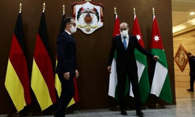 JORDAN-GERMANY-POLITICS-DIPLOMACY