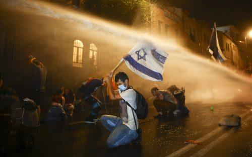 APTOPIX Virus Outbreak Israel Politics