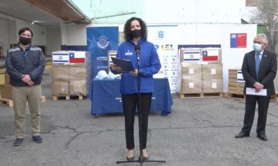 chile donaciones israel