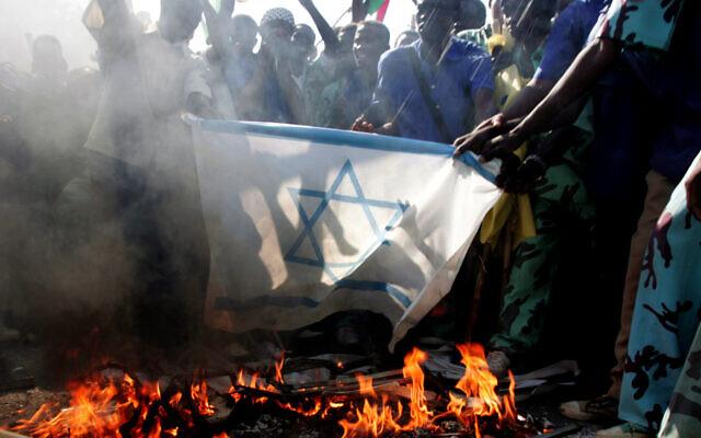 MIDEAST SUDAN PLAESTINIANS ISRAEL