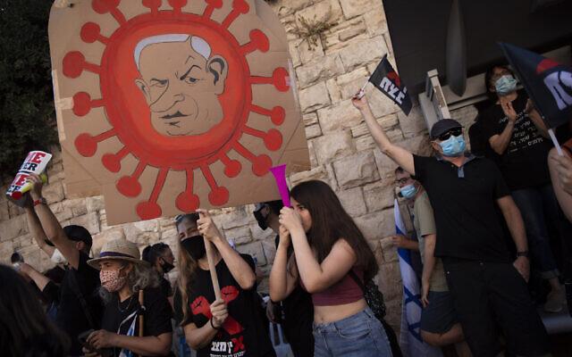Virus Outbreak Israel Politics