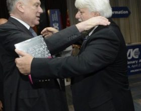Werthein junto a Ronald Lauder