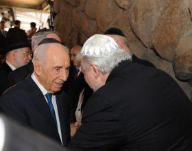 Werthein junto a Shimon Peres