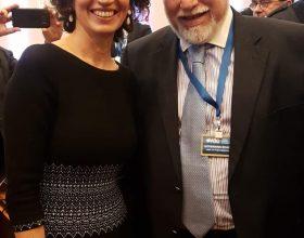 Werthein con Audrey Azyley de la Unesco