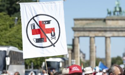 Demonstration against corona measures in Berlin