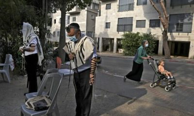 ISRAEL-HEALTH-VIRUS-RELIGION-JUDAISM