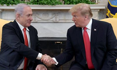 PM Netanyahu with US President Trump at the White House