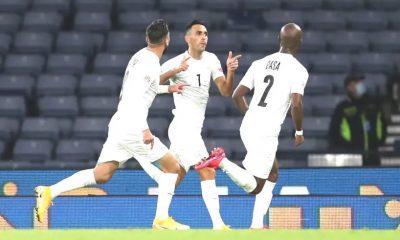Israel fútbol festejo