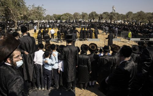 Virus Outbreak-Israel-Ultra-Orthodox