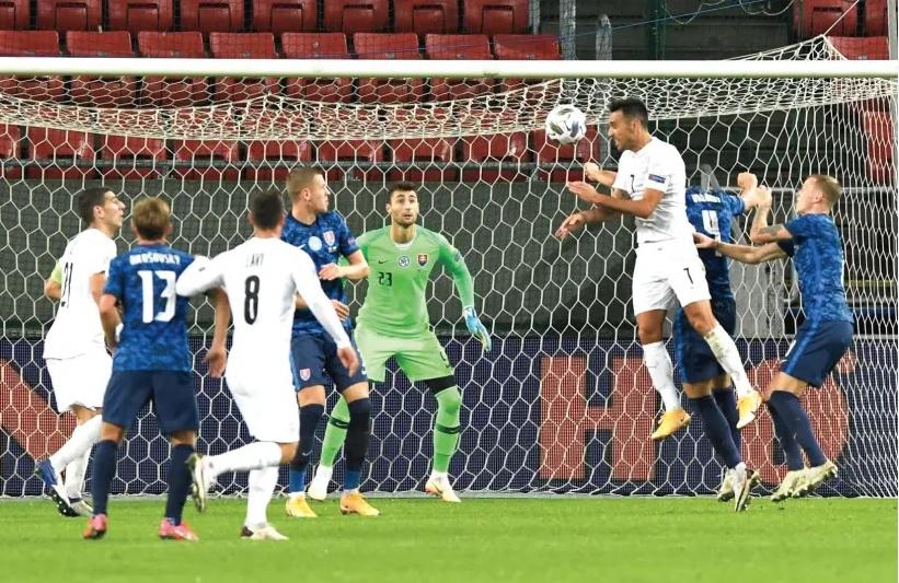 Zahavi gol Eslovaquia