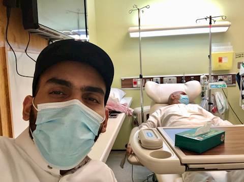 מוחמד-ואביו-בבית-החולים