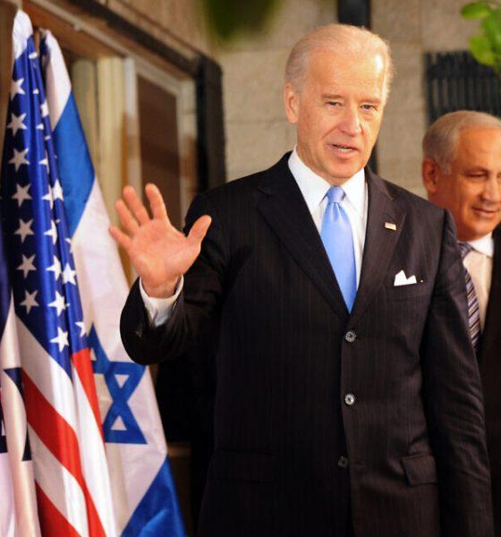 Joseph Biden, Benjamin Netanyahu