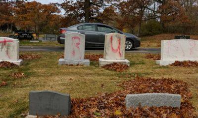 Profanación cementerio Michigan