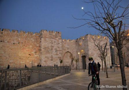 Jerusalem Lockdown 3 Jaffa Gate and Road 057 (2)