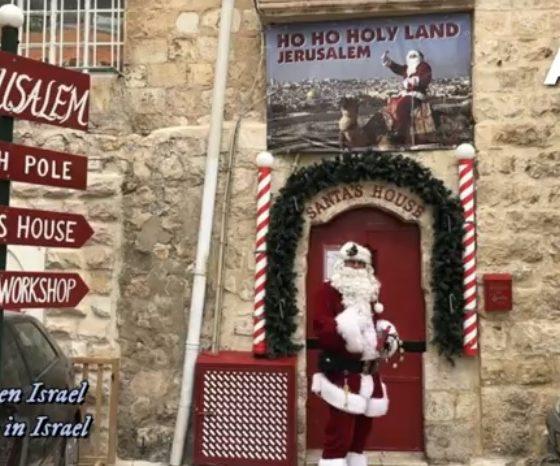 navidad en israel foto