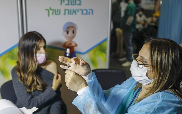 ISRAEL-HEALTH-VIRUS-VACCINE