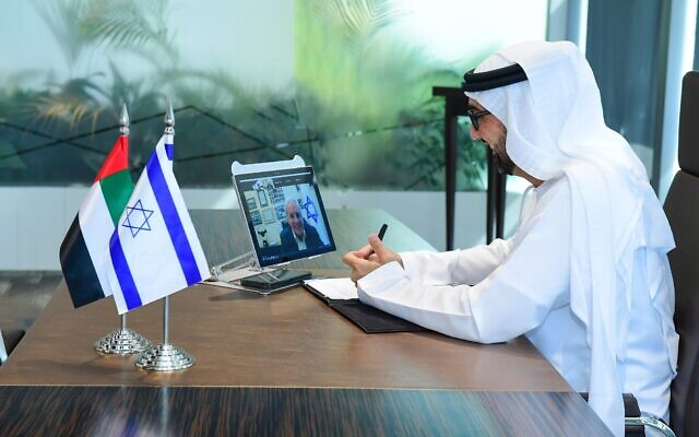 H.E.-Dr.-Tariq-Bin-Hendi-signs-cooperation-agreement-virtually-with-David-Leffler-e1614162287501-640×400