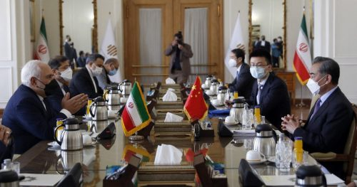 IRAN-CHINA-POLITICS-DIPLOMACY