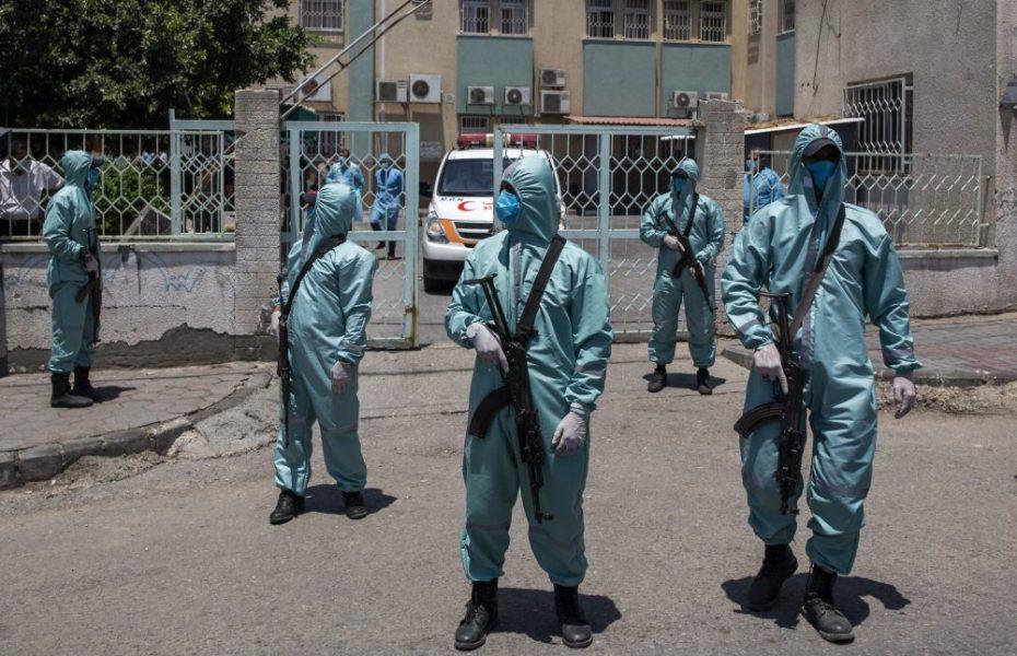 Virus Outbreak Gaza